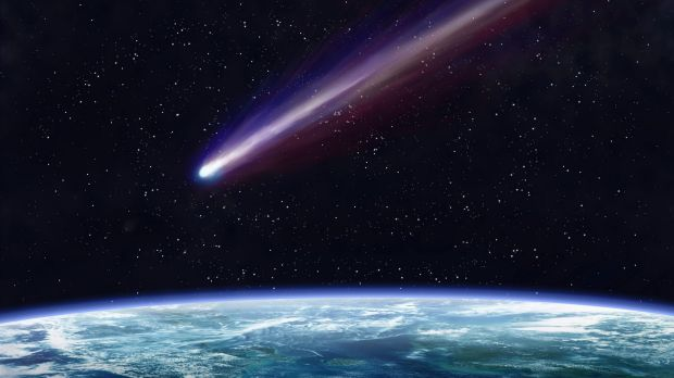 Scientists believe a comet hitting the Earth caused global warming 55.6 million years ago, an event that can help us ...