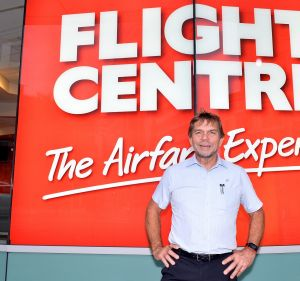 Flight Centre chief executive Graham Turner has good news for investors, not so good news for travellers.