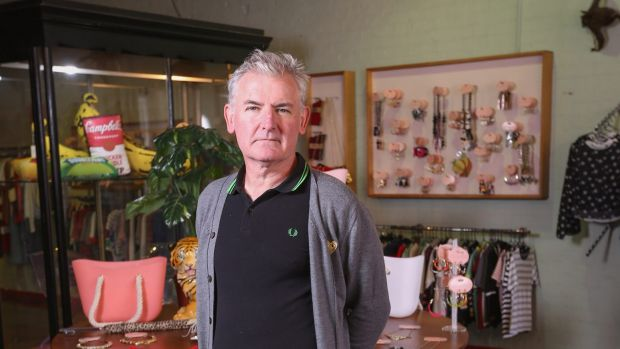 Kinki Gerlinki owner Anthony Patton says his current premises is way too big for him.