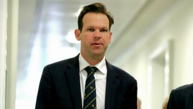Another of the Adani mine's few fans, Resources and Northern Australia Minister Matt Canavan.