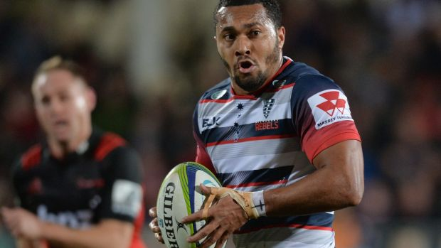 The Rebels woes have been compounded by injuries, including to Sefa Naivalu.