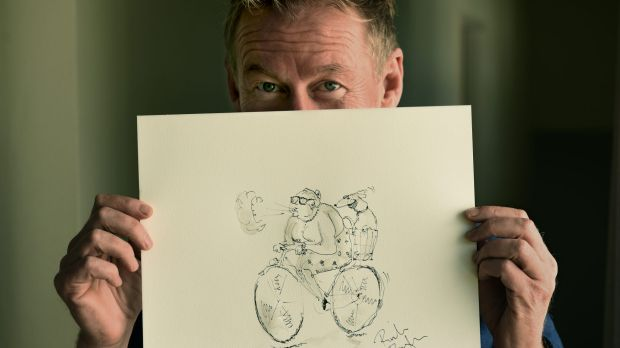 Actor Richard Roxburgh has turned children's author and illustrator.