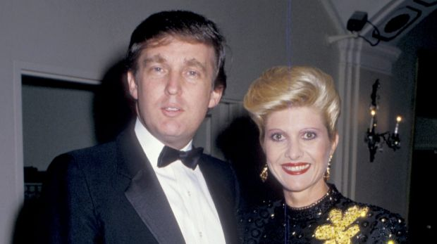 Ivana Trump and Donald Trump were married from 1977 to 1992.