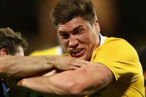 Sayonara: Sean McMahon is set to leave Australian rugby to take up a two-year deal in Japan.