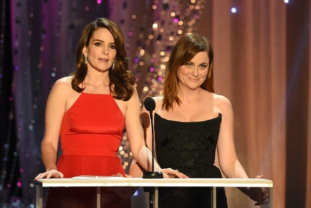 "During their 2013 Golden Globes hosting duties, Tina Fey and Amy Poehler joked that Taylor Swift better ""stay away from ..."