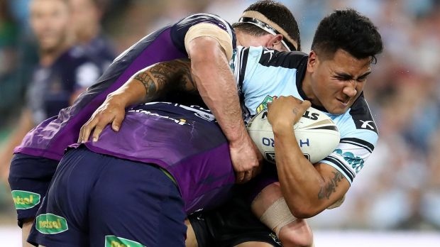 The NRL grand final between Melbourne Storm and Cronulla Sharks attracted a national television audience of 4.226 ...