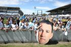 Cronulla Sharks meet fans at Shark Park after their Grand final win.