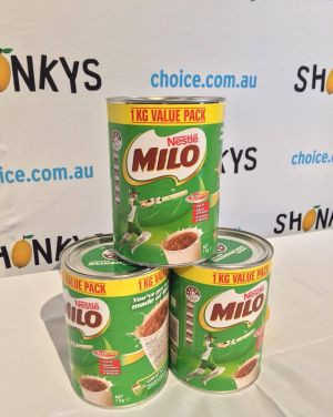 Nestle's Milo received a Shonky for being 46% sugar and advertising health stars applicable to skim milk only.
