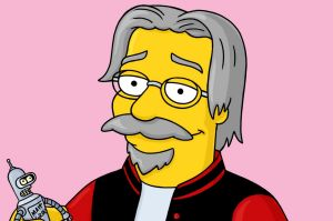Matt Groening in animated form.