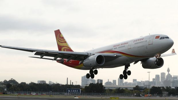 The converted jet is a similar size to this Hainan Airlines A330,
