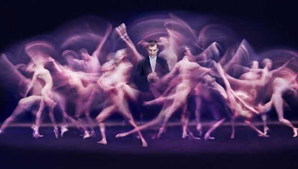 The Dance - David McAllister, 2016, by Peter Brew-Bevan, inkjet print, National Portrait Gallery, Commissioned with ...