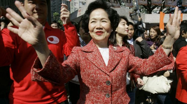 "The ""Iron Lady"" of Hong Kong: Anson Chan, in 2007."