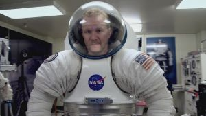 Morgan Spurlock: joining the space race.