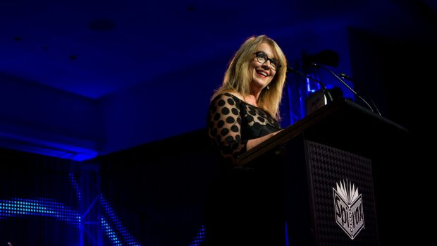 Judith Whelan at the Kennedy Awards this year.