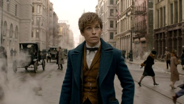 Eddie Remayne stars as Newt Scamander in <i>Fantastic Beasts and Where to Find Them</i>.