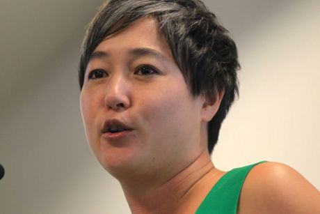 Jenny Leong stormed out of Monday's party room meeting.