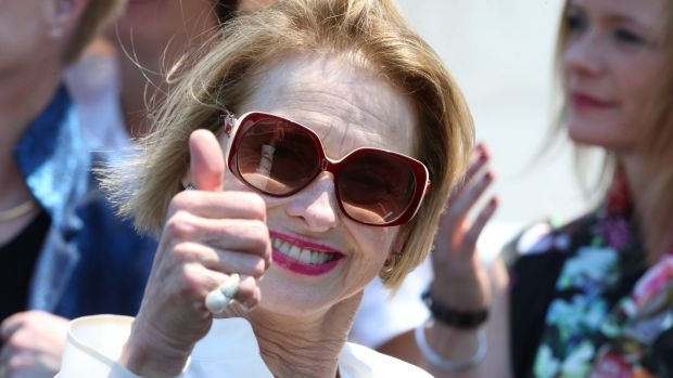 Home support: Gai Waterhouse is adamant the winner of the Melbourne Cup will be prepared by an Australian.
