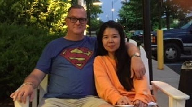 """We thought it [the initial raid] was nonsense,"" says Jiang Ling's husband Jeff Sikkema."
