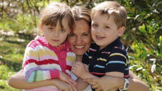Tragedy: Maria Claudia Lutz and her two children, Elisa and Martin, were found dead along with their father Fernando ...