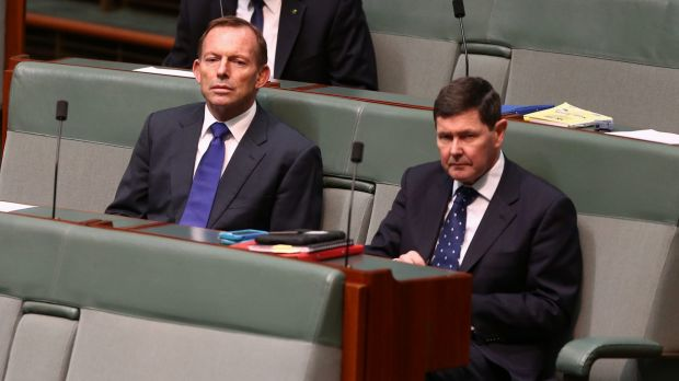 Former Howard and Abbott minister Kevin Andrews in Parliament.