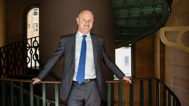 CBA chief executive Ian Narev after delivering a speech to the Trans-Tasman Business Circle in Sydney.