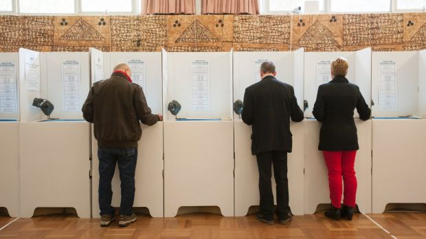 Some 34 per cent of ACT voters cast their votes before polling day last year.