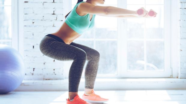 Doing squat: Conditioning coach Michelle Drielsma says this one exercise helps everything.