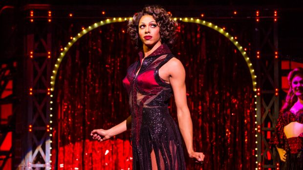Callum Francis is in the running for best male actor in a musical for his role as Lola in <i>Kinky Boots</i>.