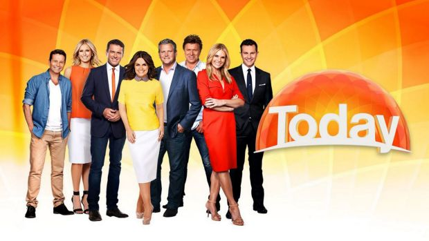 The Today Show team on Channel Nine including Karl Stefanovic and Lisa Wilkinson