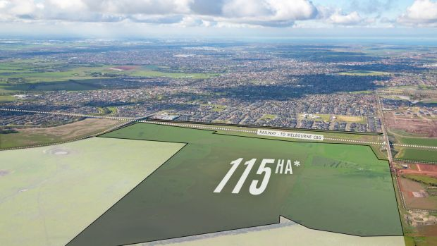 Frasers Property Australia has bought a 115 hectare site at Wyndham Vale in Melbourne's west.