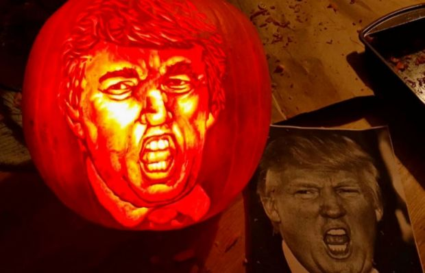 Nine of the best trumpkin pumpkins