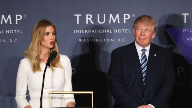 The future of Ivanka Trump's brand is deeply entwined with the success of her father's presidency.