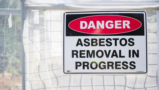 Asbestos has been discovered at a Harvey Norman warehouse in Fyshwick.