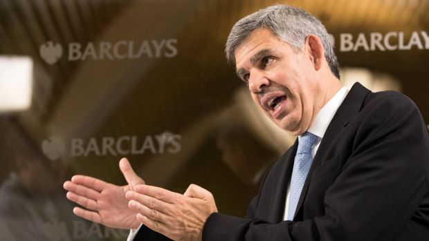 Mohamed El-Erian, former chief executive officer of PIMCO, is reportedly in the running for the role of US Fed vic-chairman.