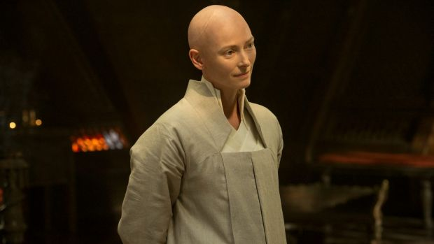 In 2016's <i>Doctor Strange</i>, Tilda Swinton played the Ancient One, a monkish character who was depicted as a Tibetan ...