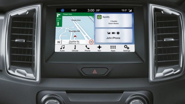 ford sync 3 review in car multimedia powered by your phone. Black Bedroom Furniture Sets. Home Design Ideas