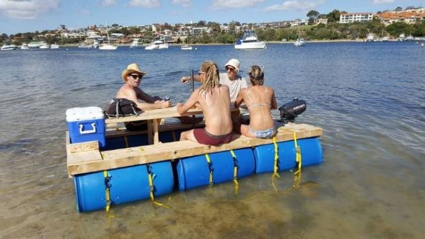 Picnic table boat pics best boat 2017 floating picnic table marine business watchthetrailerfo