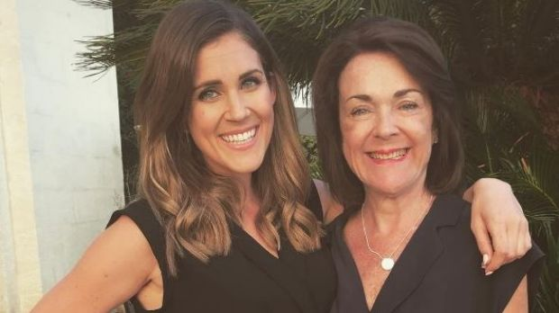 The Bachelorette Australia, Georgia Love with her mother Belinda Love who died of pancreatic cancer in October.