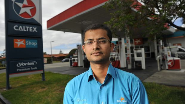 Syed Aqeel claims he was underpaid while working at a Caltex station.