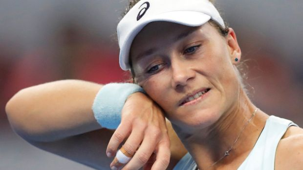 US Open tennis: Samantha Stosur pulls out with injured hand