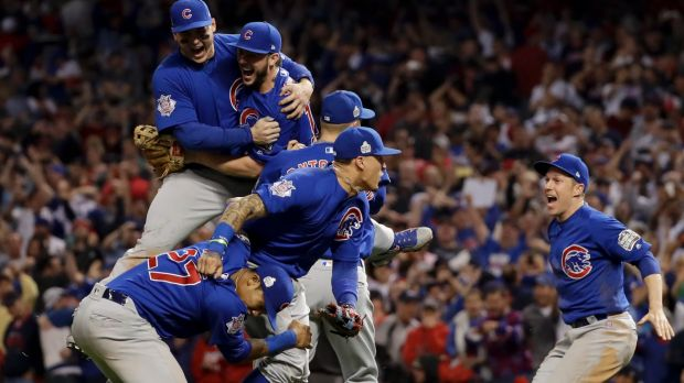 Drought broken: The Chicago Cubs world series victory ended a 108-year wait.