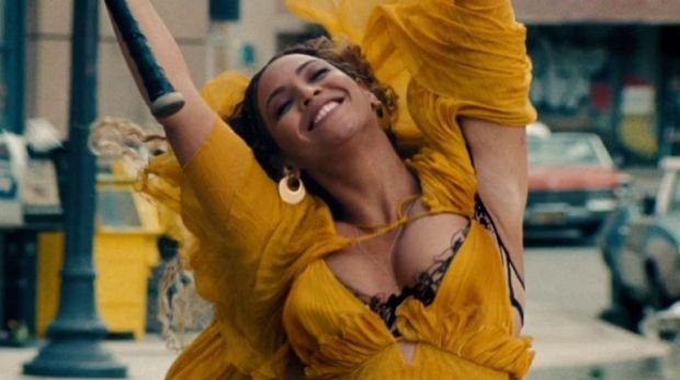 Beyonce in a scene from her visual album Lemonade.