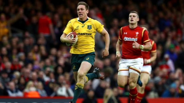 ACT Brumbies boss Michael Thomson says the club is interested in signing Wallabies flyer Dane Haylett-Petty if the ...
