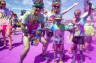 More than 18,000 turned out in Perth on Sunday for the annual Color Run.