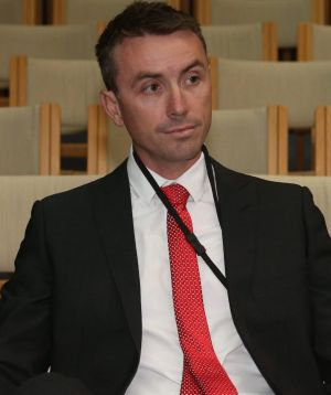 One Nation powerbroker James Ashby.