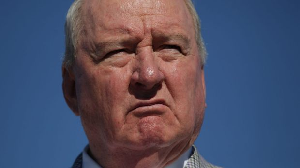 """Can you believe it?"": Alan Jones took to Twitter on Thursday to attack the Cloud Arch sculpture."