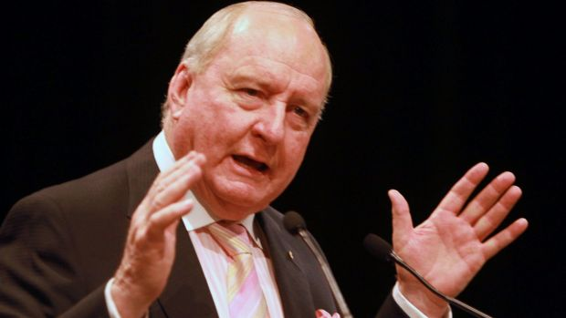 Broadcaster Alan Jones is a fierce critic of Chinese state-owned company Shenhua's proposed Watermark mine