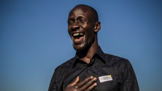 """Deng Adut has been named NSW Australian of the Year for 2017. """"I had to wait until I became an Australian citizen to ..."""