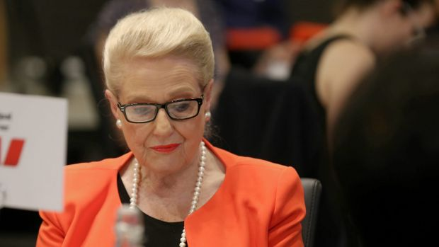 "Former speaker Bronwyn Bishop insists she did ""nothing wrong""."