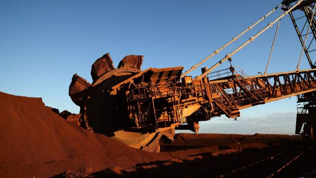Rio Tinto's iron ore division continues to dominate its earnings.